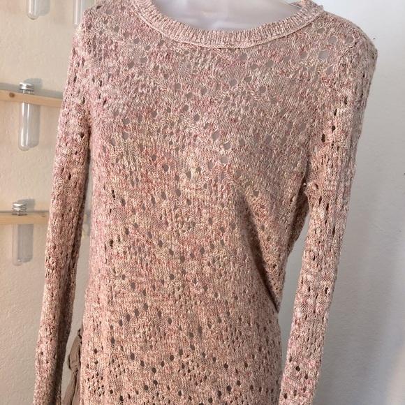 Posh blush colored sweater